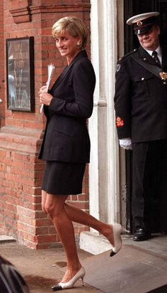 June 12, 1997: Diana, Princess of Wales calls for worldwide ban on land mines at a one day seminar co-hosted by the Mines Advisory Group & the Landmine Survivors Network, London.