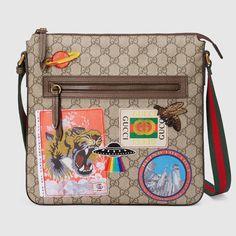 e7da1fed2165 Gucci Courrier soft GG Supreme messenger Gucci Men, Gucci Bags, Gucci Gucci,  Gucci