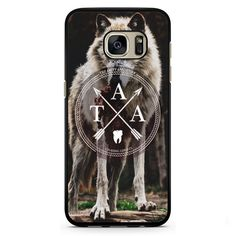 The Amity Affliction Wolf Logo Phonecase Cover Case For Samsung Galaxy S3 Samsung Galaxy S4 Samsung Galaxy S5 Samsung Galaxy S6 Samsung Galaxy S7