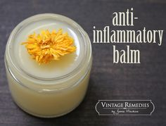 How to make an Anti-inflammatory Balm - a must in every first aid kit!  | Vintage Remedies