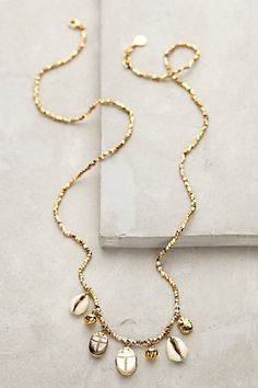 Nautical charm necklace #anthrofave http://rstyle.me/n/r3fmznyg6