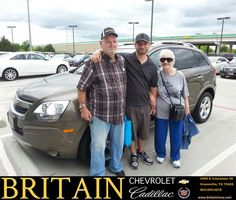 https://flic.kr/p/Gcu9Tm | Happy Anniversary to Joe on your #Chevrolet #Captiva Sport Fleet from Mike Donahoe at Britain Chevrolet Cadillac! | deliverymaxx.com/DealerReviews.aspx?DealerCode=I827