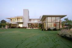The Urbane House by Hiren Patel Architects  Hiren Patel Architects have designed a home in Ahmedabad, Gujarat, India.