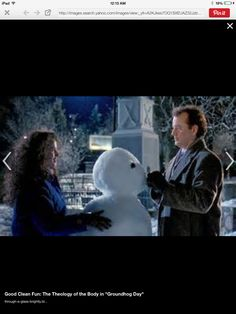 Groundhogs Day filmed on the Woodstock square. ILL