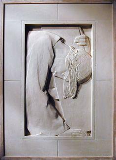 Lucienne Antoinette HEUVELMANS (1885-1944) - Chemin de Croix, 1927 Art Thou, Harlem Renaissance, Sacred Art, Bauhaus, Images, Art Deco, Sculpture, Statue, Paths