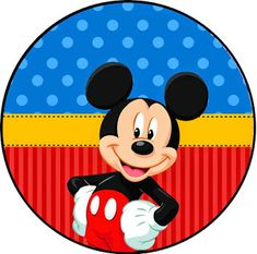 Kit Imprimible GRATIS Mickey Mouse