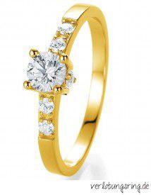 Wunderschöner Verlobungsring Bridal Desire mit Diamanten by verlobungsring.de #rings #diamonds  #verlobungsring
