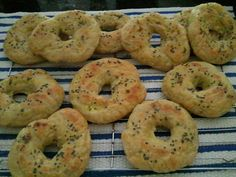 Homemade Black Lava Sea Salt Bagels. They don't last very long around here. They are easy to make and taste GREAT with cream cheese. They also are great for making a sandwich.