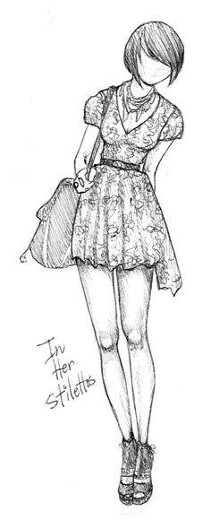 In Her Stilettos