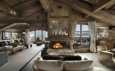 62 idées inspirantes pour votre cheminée de salon moderne Chalet Design, Chalet Style, House Design, Lodge Style, Floor Design, Chalet Interior, Interior Design, Ski Chalet Decor, Alpine Chalet
