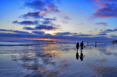 Low tide at sunset in Oceanside is magical. I feel so blessed to live in this wonderful part of the world!