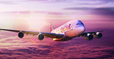 Qatar Flies Nonstop To Nagpur : Time to rejoice as there are more direct flights to India available now through Qatar Airways. Qatar Airways has recently declared that it will start nonstop direct flight to India from USA, for its new destination, Nagpur. Airbus A380, Cheap Flights To India, Airplane Wallpaper, Hd Wallpaper, Flight Schedule, Direct Flights, Airline Reservations, Qatar Doha, May Bay