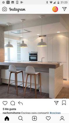 Open Concept Kitchen Living Room Design Ideas, Pictures, Remodel, and Decor Kitchen Interior, Interior Design Living Room, Kitchen Decor, Kitchen Ideas, Bathroom Styling, Kitchen Styling, Cottage Style Bathrooms, Cuisines Design, Küchen Design