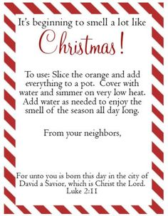 """This post was going to include a recipe for Stove-top Potpourri and explain ways to get to know your neighbors during the holiday season, and it still is…sort of.   When trying out the recipe, God showed me in greater depths how he wants me to engage with Him and others.  After realizing I cut the orange """"wrong"""", and that my lemons were too moldy to use, I noticed a sad, crusty French fry from last night's gourmet dinner on the stove.   Although some might see this picture as a…"""