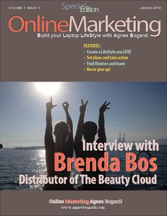 Please welcome my new project for #2016 - #Interview with Brenda Bos - Who lives the #lifestyle we all want #Mag #MyMag