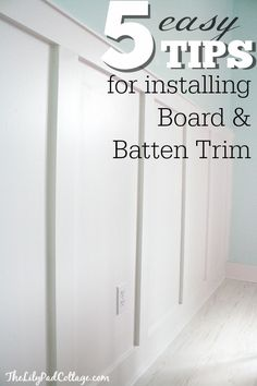 5 Board and Batten Tips - my adventures with power tools and a giveaway -  By Ace Blogger, @krinze