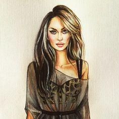 @varda_tm  #illustration #illustrationfashion #fashion #fashionsketch #fashionillustration #sketch #sketches #watercolor #draw