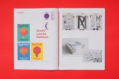 Concept/Layout: A magazine documenting the Pappel Design Trip 2014 to Amsterdam by Ann Kristin Kühl