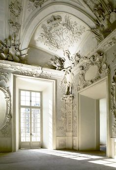 Baroque Punk • White • Architecture •