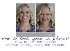 How to look good in photos -- tips from Kate Pease Photography. EVERYONE who ever takes pictures of ANYONE needs to know these tips! Poses Photo, Photo Tips, Photo Ideas, Photography Tutorials, Photography Photos, Photography Basics, Iphone Photography, White Photography, Look At You