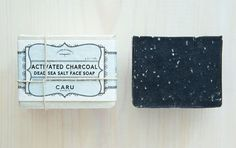 Activated Charcoal & Dead Sea Salt ORGANIC face by CaruSkincareCo