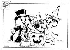 imagem de halloween para colorir - Pesquisa Google