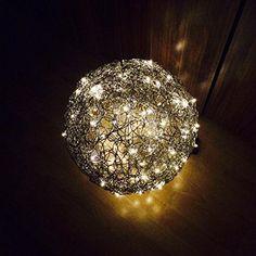 Drahtkugel 30 cm inkl Lichterkette: Amazon.de: Handmade