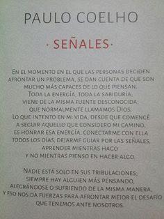Señales- Paulo Coelho