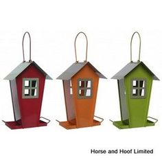 Supa Sutherland Seed Feeders For Wild Birds Supa Sutherland Seed Feeders are a selection of contemporary house shaped wild bird seed feeders.