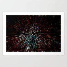 3D abstract Art Art Print by David Pyatt - $17.68