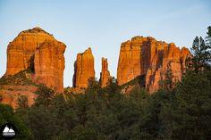 Go Explore Today. Cathedral Rock - Sedona Arizona. #sedona #sedonaarizona #cathedralrock #hikingadventures #sunset #sunset_madness