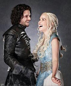 Jon Snow & Kahlessi