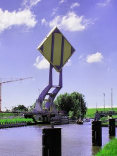 Strange Architecture: 'Flying Drawbridge' in the Netherlands