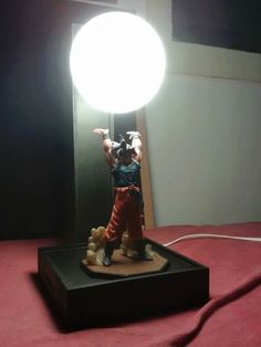 Cool dragon ball Z lamp