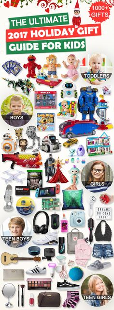 Tons of Christmas Gift for Kids. #christmasgifts