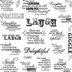 Fiskars Laugh With Me 8x8 Quote Clear Stamps - Free Shipping On Orders Over $45 - Overstock.com - 12786038