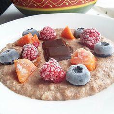Protein porridge  ( # @anasofia.insta)