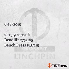 Post times to comments. Scale as needed. #CrossFit