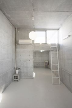 Static Quarry, open space and cool concrete // Ikimono Architects