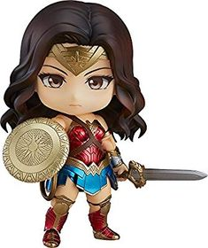From Good Smile. From the hit movie Wonder Woman comes a Nendoroid of the most powerful female super hero ever: Wonder Woman herself. Wonder Woman Art, Wonder Woman Chibi, Wonder Woman Kunst, Wonder Woman Movie, Wonder Women, Super Heroine, Hero Movie, Female Hero, Good Smile