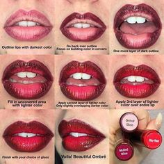 Do you like an ombré look?  Follow these simple steps, and create a beautiful ombré lip! ���� If you've created one before tag me your selfies, or share below what colors you've used!! ���� • • • • #lipsense #ombre #ombrelips #mulledwine #bluredlipsense #ombrelipsense #joinmyteam #beauty #blogger #makeupaddict #makeupjunkie  #weddingmakeup #bayareamakeupartist #bayarea #wedding #bayareaweddings #cosmetics #makeupoftheday #lipstickoftheday #lippie #lipgloss #glossy #beauty #momlife…