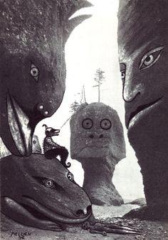 Like an Acid TRIP: Alfred Pellan-Interventions sur photos