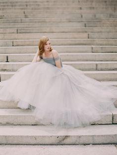 ball gown wedding dress by @Sareh Baca Hamilton Nouri / dreamy photo by @Laura Jayson Gordon