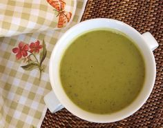 TESTED  & PERFECTED RECIPE – This pea soup is a perfect first course or light meal -- so simple, so fresh and so good for you.