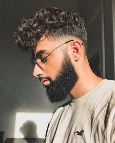 """190 Likes, 8 Comments - Dany Tauseef (@danytauseef) on Instagram: """"Saturday curls ♂️ _________________________________ #hairstyles #menhairstyle #beardgang…"""""""