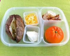 Operation: Lunch Box: Day 61 - Baked Potato