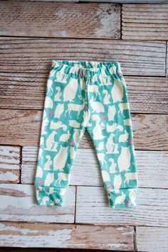 woodland baby leggings