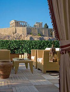 θέα στην Ακρόπολη / view to Acropolis, Athens, Greece