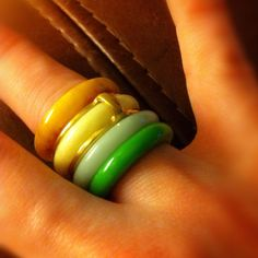 Seriously? It's like BANGLES for your fingers! <3 <3
