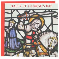 happy st georges day card from Paperchase